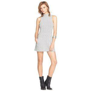 Free People sleeveless chevron A line dress, SP